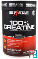 Elite Series, 100% Creatine, Unflavored, Six Star, 0.88 lbs, 400 g