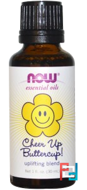 Essential Oils, Uplifting Blend, Cheer Up Buttercup!, Now Foods, 30 ml