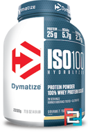 ISO100 Hydrolyzed, 100% Whey Protein Isolate, Dymatize Nutrition, 5 lbs, 2300 g