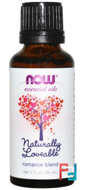 Essential Oils, Naturally Loveable, Now Foods, 30 ml