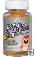 Zoo Friends Smart Kids Omega Plus DHA, 21st Century, 60 Gummies