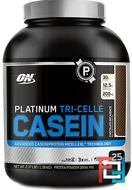 Platinum Tri-Celle Casein, Optimum Nutrition, 2.37 lb, 1080 g