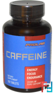 Caffeine, ProLab, 200 mg, 100 Tablets