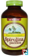 Pure Hawaiian Spirulina Pacifica, Nature's Multi-Vitamin, Powder, Nutrex Hawaii, 16 oz, 454 g