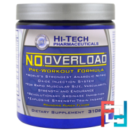 N.O. Overload, Pre-Workout Formula,  Hi-Tech Pharmaceuticals, 310 g