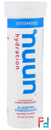 Vitamins, Hydration, Blueberry Pomegranate, Nuun, 12 Tablets