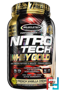 100% Whey Gold, Nitro Tech, Muscletech, 2.50 lbs, 1130 g