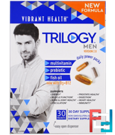 Trilogy Men, Daily Power Packs, Version 2.0, Vibrant Health, 30 Packets