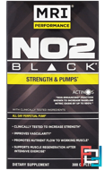 NO2 Black, MRI, MRI Performance, 300 Caplets
