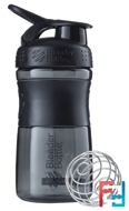BlenderBottle, SportMixer Tritan Grip, Black-Black, Sundesa, 20 oz