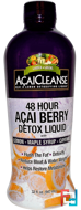 AcaiCleanse, 48 Hour Acai Berry Detox Liquid, Garden Greens, 32 fl oz, 947 ml