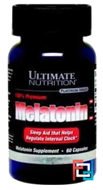 Melatonin, Ultimate Nutrition, 3 mg, 60 caps