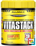 Vitastack, Maximum Strength Multi-Vitamin & Minerals, ALLMAX Nutrition, 270 Tablets