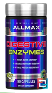 Digestive Enzymes + Protein Optimizer, ALLMAX Nutrition, 90 Capsules