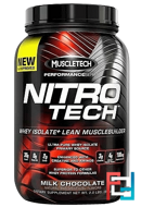 Nitro Tech, Muscletech, 2.00 lbs, 907 g