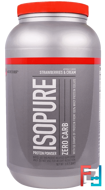 IsoPure, Protein Powder, Zero Carb, Strawberries & Cream, Nature's Best, 3 lb (1.36 kg)