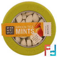 Green Tea Mints, Tropical Mango, Sencha Naturals, 1.2 oz, 35 g