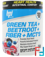 Green Tea + Beetroot + Fiber + MCT's, Berry Splash, BPI Sports, 11.64 oz, 330 g