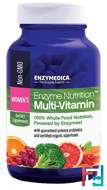 Enzyme Nutrition Multi-Vitamin, Women's, Enzymedica, 120 Capsules