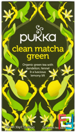 Clean Matcha Green, Pukka Herbs, 20 Green Tea Sachets, 0.05 oz, 1.5 g