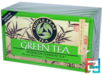 Green Tea, 20 Tea Bags, Triple Leaf Tea, 1.4 oz, 40 g