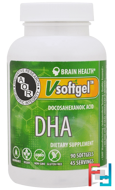 DHA, Advanced Orthomolecular Research AOR, 90 Softgels