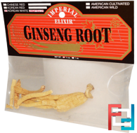 Ginseng Root, Korean White, Heaven 25, Imperial Elixir, 1/2 oz