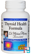 Thyroid Health Formula, Natural Factors, 60 Veggie Caps