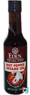 Selected, Hot Pepper Sesame Oil, Eden Foods, 5 fl oz (148 ml)