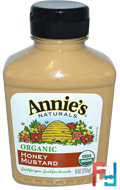Organic, Honey Mustard, Annie's Naturals, 9 oz (255 g)