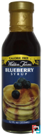 Blueberry Syrup (Черничный сироп), Walden Farms, 355 ml