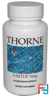 5-MTHF, 5 mg, Thorne Research, 60 Vegetarian Capsules