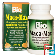 Maca Max, Bio Nutrition, 1,000 mg, 30 Tablets