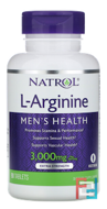 L-Arginine, Natrol, 3000 mg, 90 Tablets
