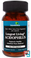 Longest Living Acidophilus, FutureBiotics, 100 Veggie Caps