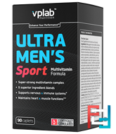 Ultra Men's Sport Multivitamin Formula, VP Laboratory,  90 capsules