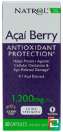 AcaiBerry, The Ultimate Super Fruit, Extra Strength, Natrol, 1,200 mg, 60 Veggie Caps