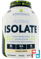 Natural Isolate, Vanilla Bean, Bodylogix, 4 lbs (1.8 kg)