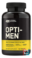 Opti-Men, Optimum Nutrition, (US), 150 Tablets