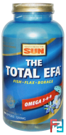 Omega 3-6-9, The Total EFA, Organic Vegetarian, Health From The Sun, 16 fl oz (473 ml)