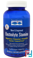 Electrolyte Stamina, Trace Minerals Research, 300 Tablets