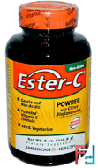 Ester-C, Powder with Citrus Bioflavonoids, American Health, 8 oz, 226.8 g