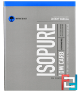 IsoPure, IsoPure, Low Carb Protein Powder, Creamy Vanilla, Nature's Best, 20 Packets, 2.24 oz (64 g) Each