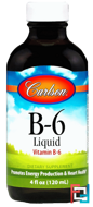 B-6 Liquid, Carlson Labs, 4 fl oz (120 ml)
