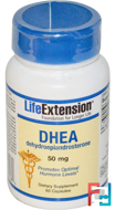 DHEA, 50 mg, Life Extension, 60 Capsules