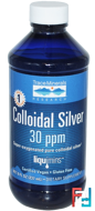 Colloidal Silver, 30 ppm, Trace Minerals Research, 8 fl oz (237 ml)