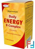 Fatigue to Fantastic!, Daily Energy B Complex, Enzymatic Therapy, 120 Veggie Caps