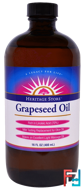 Grapeseed Oil, Heritage Store, 16 fl oz (480 ml)