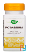 Potassium Complex, 99 mg, Nature's Way, 100 Capsules