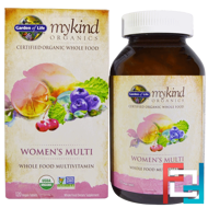 MyKind Organics, Women's Multi, Garden of Life, 120 Vegan Tablets